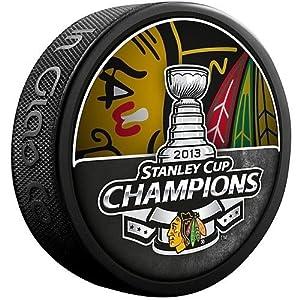 Chicago Blackhawks 2013 NHL Stanley Cup Champions Souvenir Hockey Puck