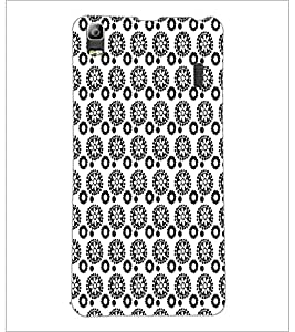 PrintDhaba Pattern D-5927 Back Case Cover for LENOVO K3 NOTE (Multi-Coloured)