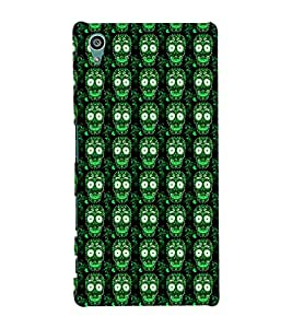 ifasho Designer Phone Back Case Cover Sony Xperia Z5 :: Sony Xperia Z5 Dual 23MP ( Colorful Dog Face Tribal Pattern Design )