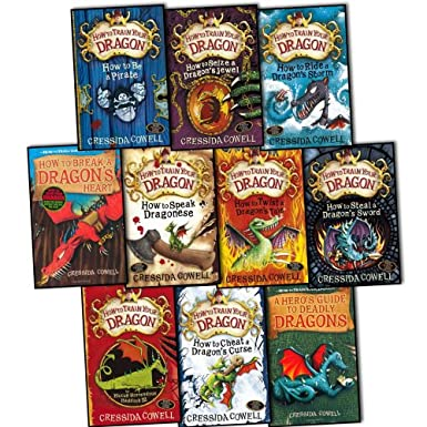 How to Train Your Dragon Collection 10 Books Set Pack  eBay