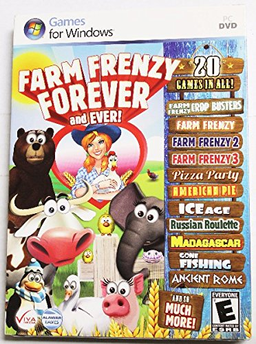 Farm Frenzy Forever and Ever!- 20 Games in All [DVD-ROM] Windows Vista / Windows 7 / Windows XP (Farm Frenzy 2 compare prices)
