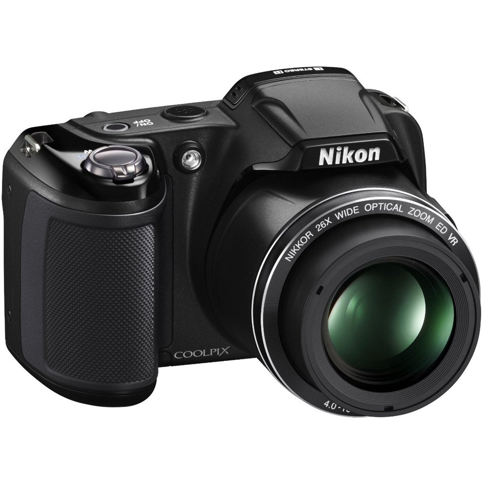 Nikon COOLPIX L810 16.1 MP Digital Camera with 26x Zoom NIKKOR ED Glass Lens and 3-inch LCD (Black) (Certified Refurbished)
