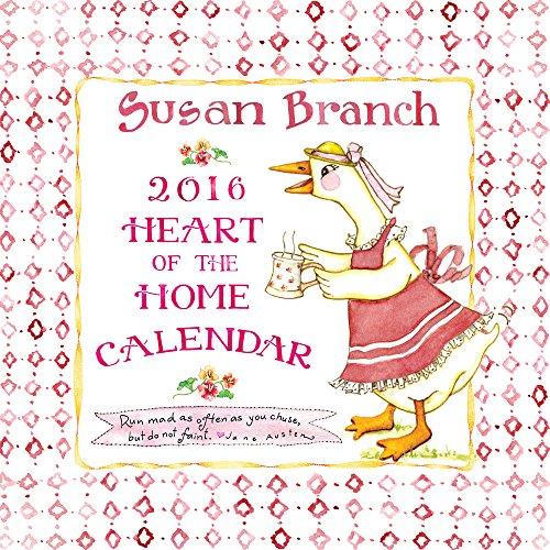 2016 Susan Branch Wall Calendar