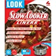 LOOK 'NO MESS' Slow Cooker Liners 55cm x 30cm