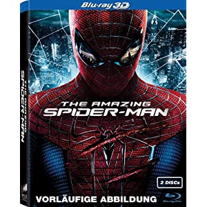 The Amazing Spider-Man (3D-Version, 2 Disc) [3D Blu-ray]