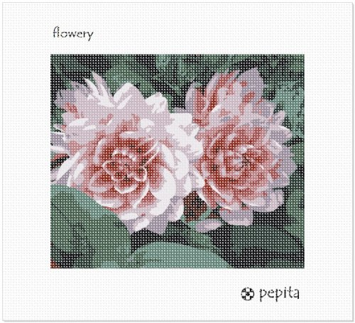 Flowery (Large) Needlepoint Kit