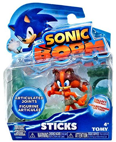 Sticks, Tomy, Sonic Boom Action Figure, 3 Inches