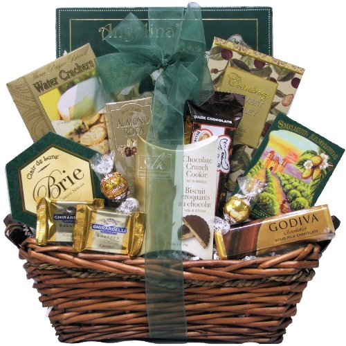 Great Arrivals Gourmet Gift Basket, Refined Elegance (Gift Wine And Cheese Baskets compare prices)