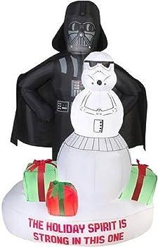 Star Wars Darth Vader Christmas Airblown Inflatable