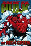 Hulk Volume 2: Red & Green Premiere HC Adams Cover (Hulk (Marvel))