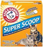 Arm & Hammer Super Scoop Clumping Litter, Unscented, 14-Pound