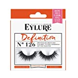 Eylure Definition False Lash, Style No. 126, Reusable, Adhesive Included, 1 Pair