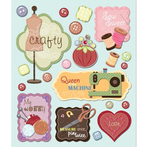 K&Company Sewing Sticker Medley (Sewing Stickers compare prices)