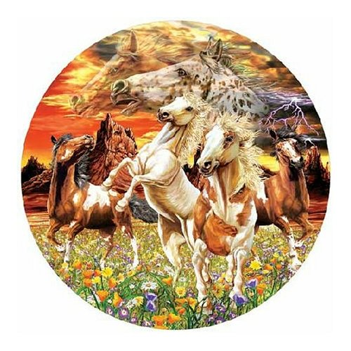 Cheap Fun Master Pieces Thunder Glow 500 Piece Jigsaw Puzzle (B0006H1BF0)