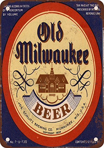 1934-old-milwaukee-beer-vintage-look-reproduction-metal-tin-sign-12x16-inches