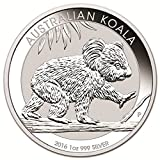 2016 AU Australian Koala 1 oz Silver Koala Coin $1 Brilliant Uncirculated New