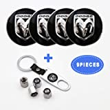FidgetFidget 4pcs AMG Wheel Center Hub Cap Badge Emblem Sticker for Mercedes Benz 56.5mm