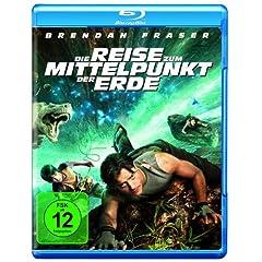 Reise zum Mittelpunkt der Erde (3D-Version des Filmes und vier 3D-Brillen) [Blu-ray]
