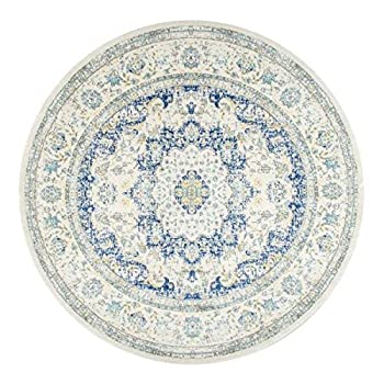 nuLOOM Traditional Persian Vintage Fancy Round Area Rug