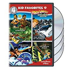4 Kid Favorites: Hot Wheels Acceleracers Coll