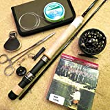 APPALACHIAN Rod Reel Bundle, Size 7-8 line wt. Includes: Rod (2 pc Nautic with fighting butt),... by Appalachian