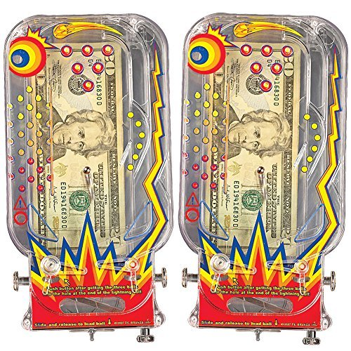Bilz Retro Pinball Money Machine (Set of 2) - 1