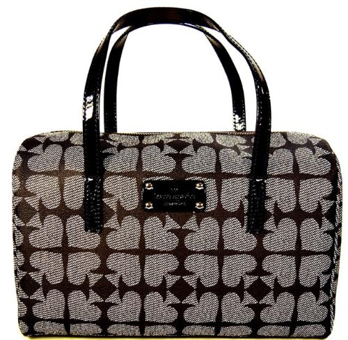 Kate Spade Bag Kaleigh Pebbled Ace of Spades Handbag