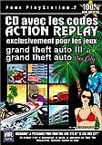 echange, troc Action Replay spécial GTA Vice city