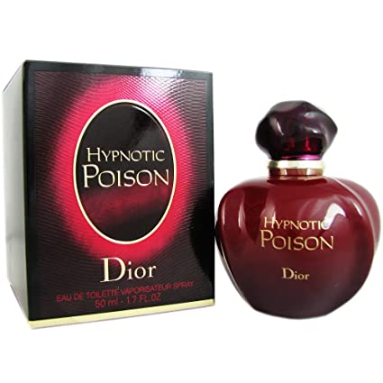 Dior Hypnotic Poison Eau de Toilette Spray for Women, 1.7 Ounce