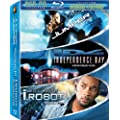 Sci Fi Collection (Jumper/Independence Day/I, Robot) [Blu-ray]