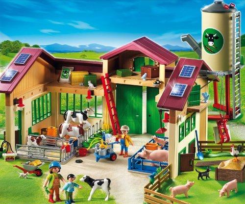 Playmobil: Bauernhof mit Silo