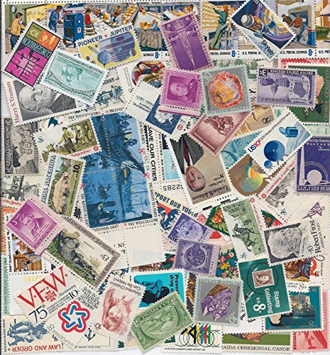 stamp-collectors-nice-large-lot-of-100-vintage-mint-us-postage-stamps-all-stamps-are-new-mint-condit