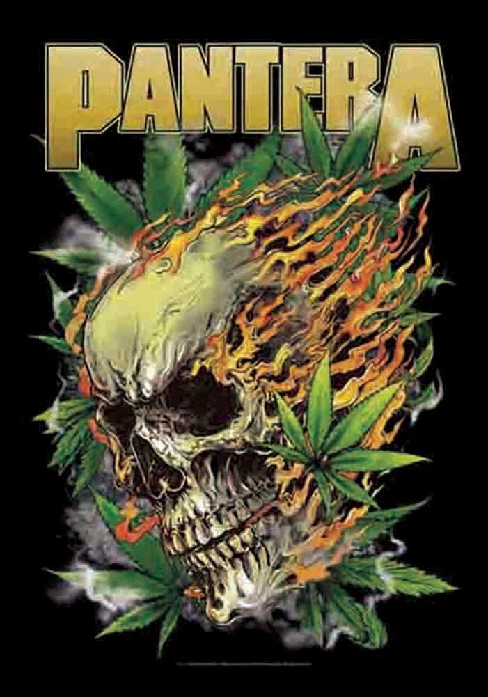 Pantera Skull Leaf Pantera Skull Leaf