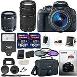 Canon Rebel SL1 w/ 18-55 & 75-300mm lenses + Promotional Holiday Bundle