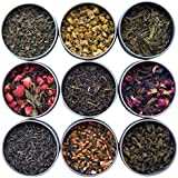 Heavenly Tea Leaves Tea Sampler - 9 Flavor Variety Pack