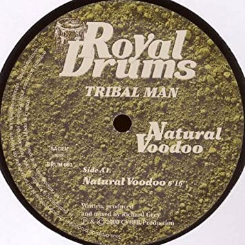 TRIBAL MAN - Natural Voodoo - 12 inch 45 rpm
