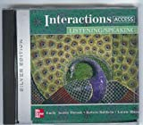 img - for Interactions Access Listening/Speaking Audio CDs (2) book / textbook / text book