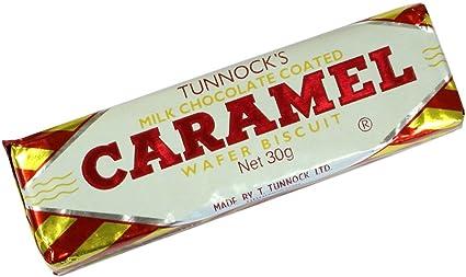 Caramel Wafer Bars Caramel Wafers 4-pack