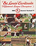 1969 St Louis Cardinals Baseball Yearbook Highlights bxbyb2