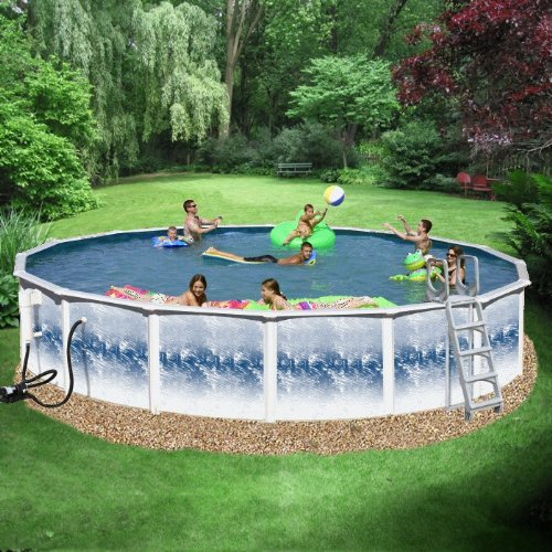 Heritage Yorkshire Complete 15 Ft Dia X 52 In High Above Ground Pool Package