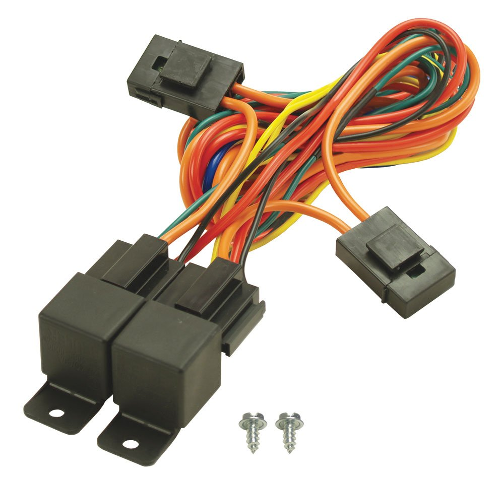 Whats A Good Toggle To Run Electric Fans Archive Chevy Nova Forum - Electric fan relay kit