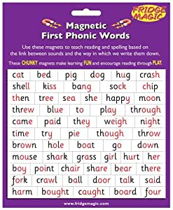 Magnetic First Phonic Words