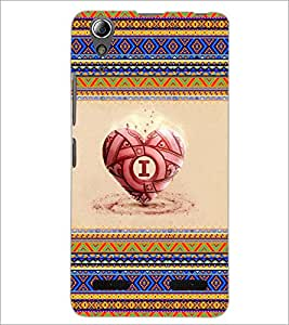PrintDhaba Lion D-4539 Back Case Cover for LENOVO A6000 (Multi-Coloured)