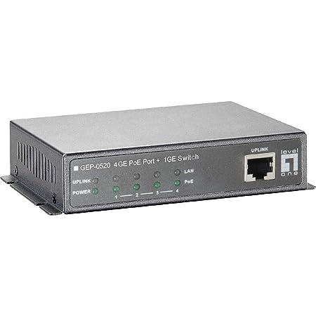 Level one GEU 0520 Switch 5 ports Gigabit