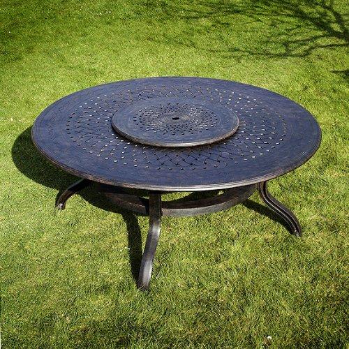 Rosie 180cm Rundes Gartenmöbelset – 1 ROSIE Tisch + 8 JANE Stühle bestellen