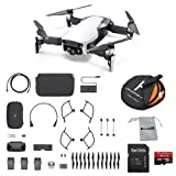 DJI Mavic Air Fly More Combo (Arctic White) Portable Quadcopter Drone Bundle with Additional Memory Card and More (Color: Arctic White)