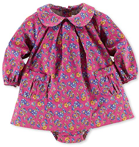 Ralph Lauren Baby Girls Pink Floral Dress (18 Months)