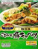 味の素 CooKDo コリア!  ごまみそ豚キャベツ用 3-4人前×4箱