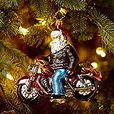 Christopher Radko Born to Be a Biker Glass Christmas Ornament 2014