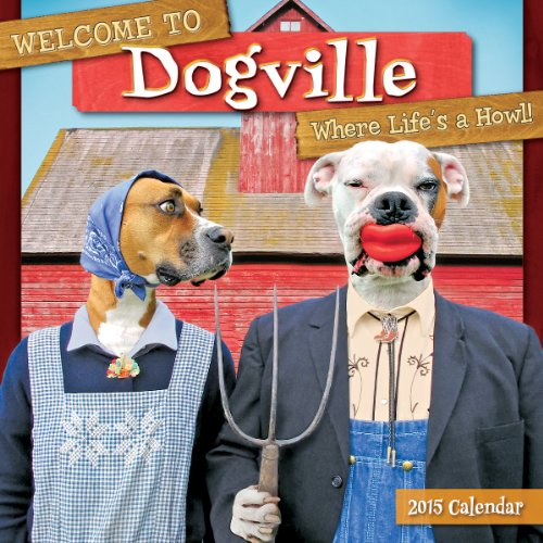 Welcome to Dogville 2015 Wall Calendar (2015 Calendar Kirby compare prices)
